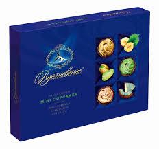 <b>Набор конфет Вдохновение Mini</b> Cupcakes 165г Красный Октябрь