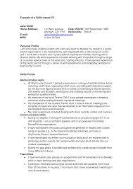 profile resume profile samples inspiring resume profile samples full size