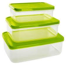 Giaretti <b>Набор контейнеров для продуктов</b> Vitamino прямоугольные