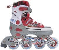 <b>Trans Roller Раздвижные роликовые</b> коньки 38-41 размер (серо ...