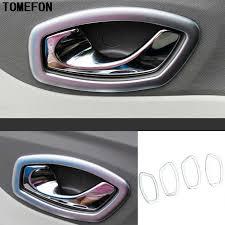 TOMEFON For Renault Captur 2013 2018 <b>ABS Chrome Matte</b> ...