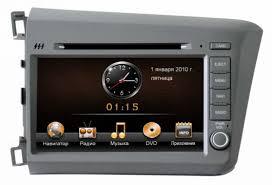 Штатная магнитола <b>Intro CHR-3612 CV для Honda</b> Civic (4D) (12 ...