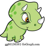 <b>Triceratops</b> Clip Art - Royalty Free - GoGraph