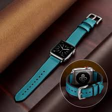 <b>Leather Band For</b> Apple Watch Starp 38mm 40mm 42mm 44mm ...