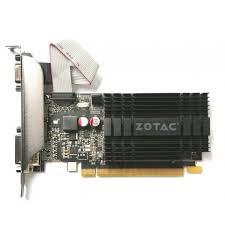 ≡ <b>Видеокарта ZOTAC</b> GeForce <b>GT 710</b> 2GB GDDR3 (ZT-71302 ...