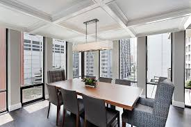 ceiling brings an interesting dynamic to the dining room design 2 design group ceiling dining room lights photo 2
