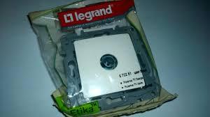 Обзор от покупателя на <b>Розетка TV Legrand ETIKA</b> 672251 ...