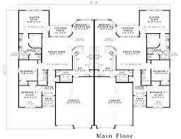 images about House Plans  Multi Family on Pinterest   Duplex       images about House Plans  Multi Family on Pinterest   Duplex plans  Duplex floor plans and Floor plans