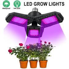 144 led grow lights panel full spectrum <b>e27 led plant growth</b> ...