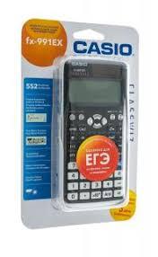 <b>Калькулятор Casio FX</b>-<b>991EX</b>-S-ET-V Чер купить недорого в ...