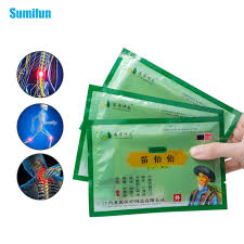<b>Sumifun 8Pcs/Bag Self heating Green</b> Plaster China Traditional ...