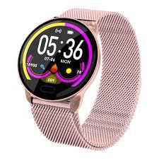 <b>K9 Colorful Screen</b> Bluetooth Smart Wrist Watch For Women Heart ...