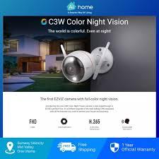 Ezviz C3W Indoor/Outdoor Wireless Security IP Camera [ Smart ...