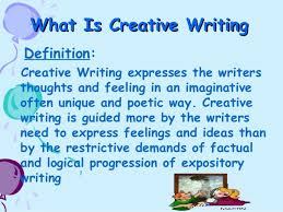 HOW SHOULD CREATIVE WRITING BE TAUGHT