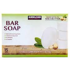 Kirkland Signature <b>Bar Soap</b> with <b>Shea Butter</b>, 15 <b>Bars</b>