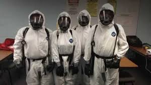 Asbestos Removal Team at Envirotex
