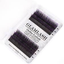 <b>GLAMLASH</b> 2Cases Mink Volume Lashes Ombre Silk Fake Eyelash ...