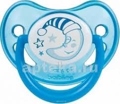 Canpol babies <b>соска</b>-<b>пустышка силиконовая</b> night dreams <b>0-6</b> синий