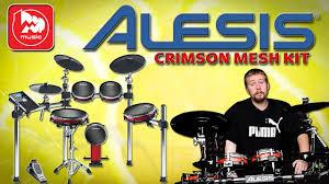 <b>ALESIS</b> CRIMSON MESH KIT <b>Электронная</b> установка, почти как ...