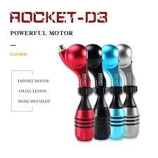 <b>ROCKET D3</b> Rotary Tattoo Machine <b>Drive Direct</b> Frame Powerful ...