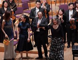 <b>Martha Argerich</b> receives warm welcome during first performance in ...