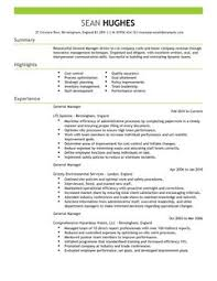 general manager cv example for management   livecareer    are  able as adobe pdf  ms word doc  rich text  plain text  and web page html formats  click to enlarge image livecareer cv example directory