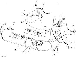 wiring diagram for a hp model john deere lawn mower