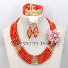 Compare prices on <b>African Orange</b> Wedding Jewellery - shop the ...