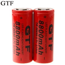 Buy <b>26650 battery lithium</b> and get free shipping on AliExpress