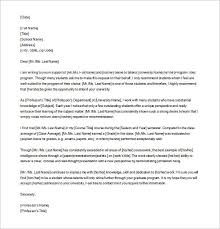 Law School Letter Of Recommendation Sample Recommendation Letter Scribd