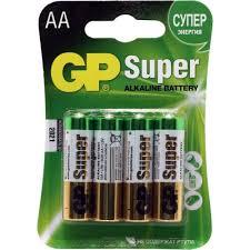 <b>Батарейки GP</b> Ultra / <b>Super</b> 15ARS / 15AU / 15A-4 (LR6) Size AA ...