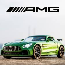2019 <b>Kidami</b> 1:32 <b>Alloy</b> Amg Gt Gtr Pull Back Diecast <b>Car</b> Model ...