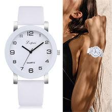 Popular New Leather <b>Fashion</b> Brand <b>Bracelet Watch Women</b>-Buy ...