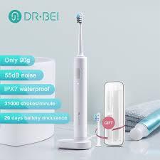 Xiaomi Dr.Bei <b>C01 Sonic Electric</b> Toothbrush IPX7 Waterproof ...