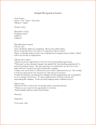 8 samples of resignation letters budget template letter professional letter of resignation sample