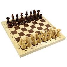 """Купить <b>Игра настольная</b> """"<b>Шахматы</b>"""", 32 деревянные фигуры ..."""