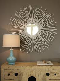wall decor tree branch sunburst mirrors