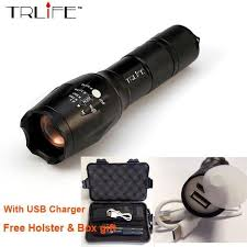 <b>USB Flashlight 8000 Lumens</b> Lanterna X900 LED L2/T6 Tactical ...