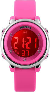 Girls Digital <b>Sport Watch</b>, Kids <b>Waterproof</b> Outdoor Electrical ...