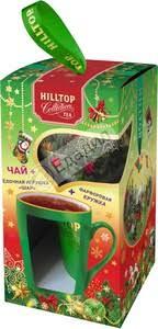 80Г НГ <b>НАБОР Яркие</b> подарки ЧАЙ+ЧАШКА <b>HILLTOP</b> — Едадил