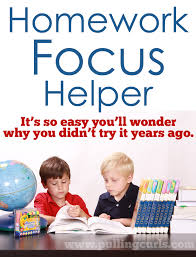 This project will hlep your kids FOCUS on their homework rather than what they     re Pulling Curls
