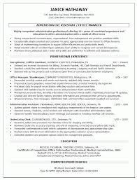 front office manager resume samples make resume front office resume format of manager sample inside