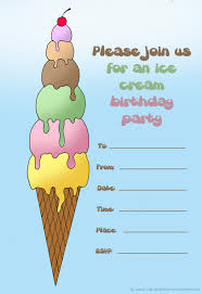 14 printable birthday invitations many fun themes 1st birthday ice cream birthday invitation to print