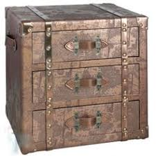 atlas design 3 drawer trunk cabinet allissias attic vintage french style bar trunk furniture