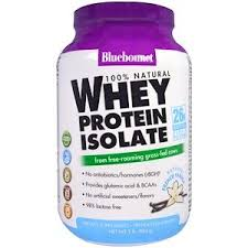Bluebonnet Nutrition, 100% <b>Natural Whey Protein</b> Isolate, <b>Natural</b> ...