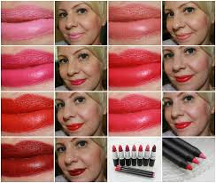 <b>MAC</b> Retro Matte Collection Swatches and Review | Vampy Varnish
