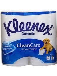 <b>Kleenex</b> 4 шт. <b>Туалетная</b> бумага 2-хслойная ...