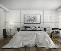 modern bedroom concepts:   white bedspread