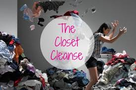 Image result for cleaning out your closet