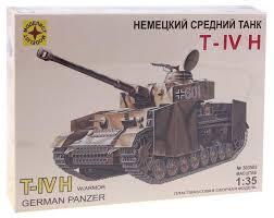 Сборная <b>модель Моделист Немецкий танк</b> T-IV H (303503) 1:35 ...